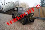 Willys M38 Cdn Army Jeep 1952 for Sale ,Te Koop , Zum Verkauf